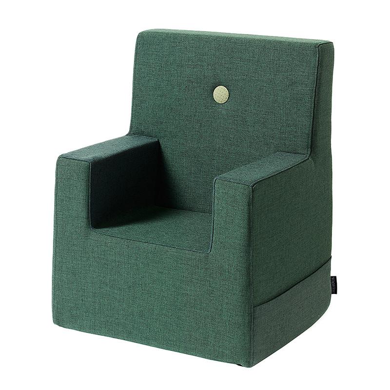 Image of   By KlipKlap Kids Chair XL Deep Green W. Light Green
