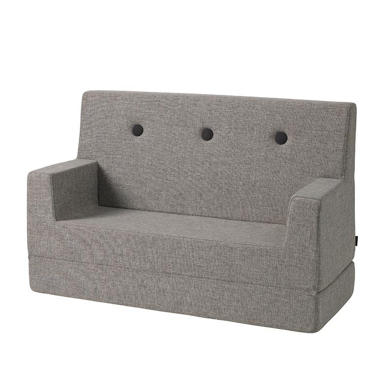 Image of   By KlipKlap Kids Sofa Multi Grey W. Grey