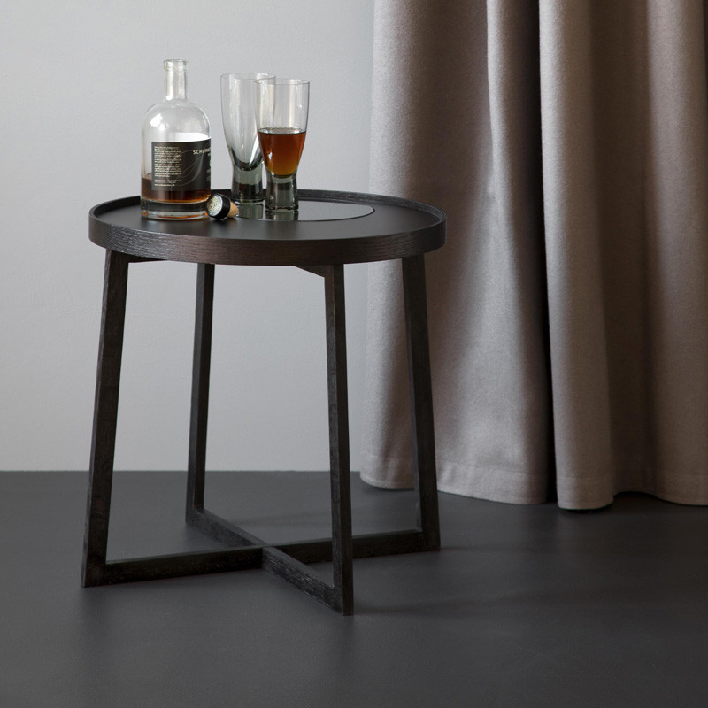 Image of   By Wirth Tray Table Black