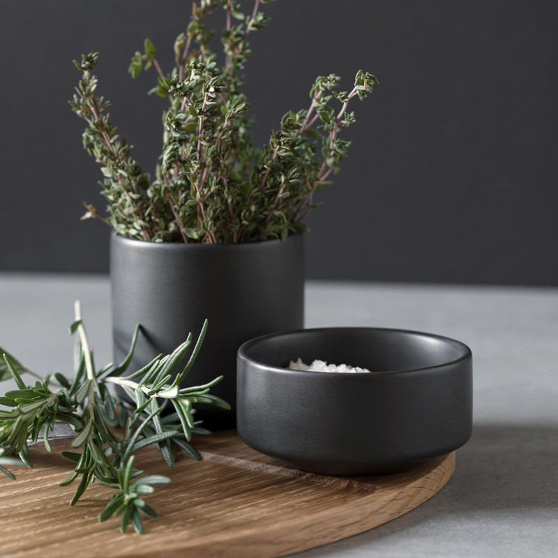 Image of   By Wirth Serve Me Bowl Dark Grey