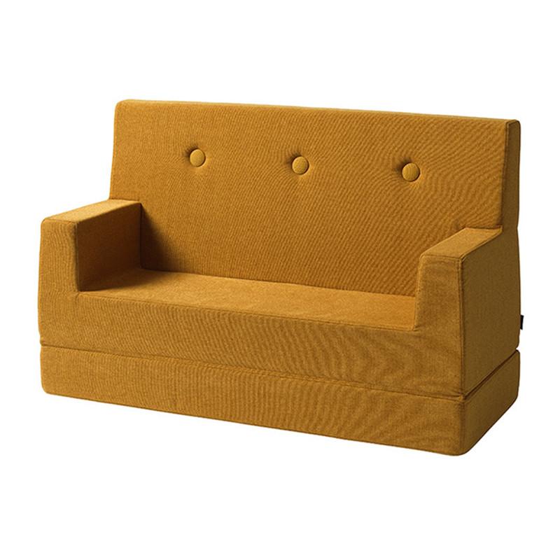 Image of   By KlipKlap Kids Sofa Mustard W. Mustard