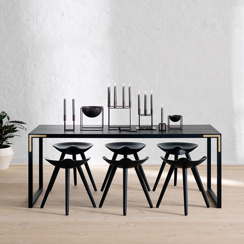 by lassen kubus bowl bruneret kobber lille. Black Bedroom Furniture Sets. Home Design Ideas