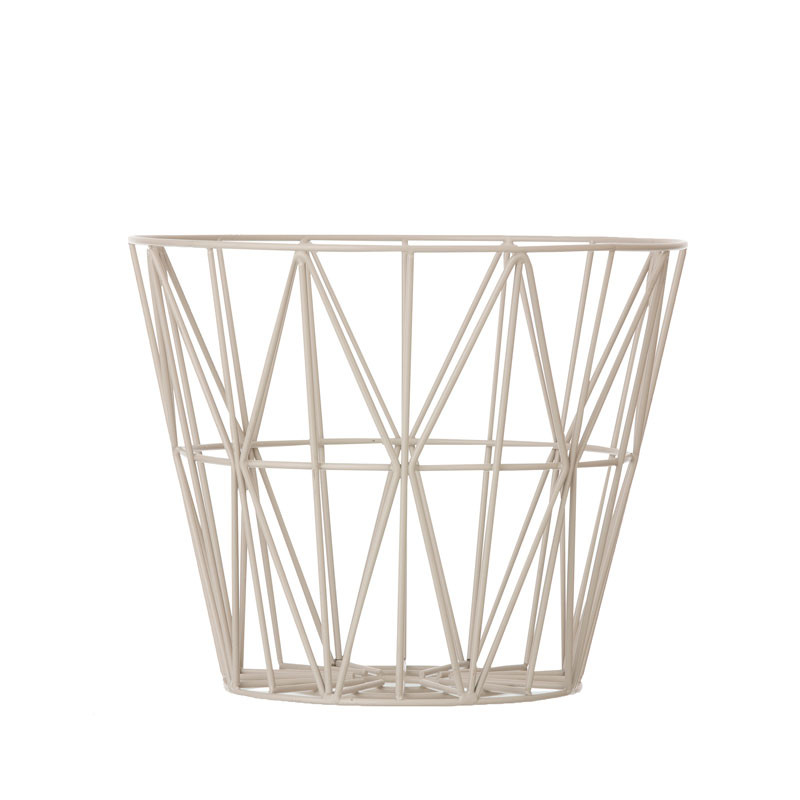 Image of   Ferm Living Wire Basket Grå