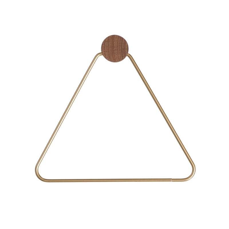 Image of   Ferm Living Brass Toilet Paper Holder