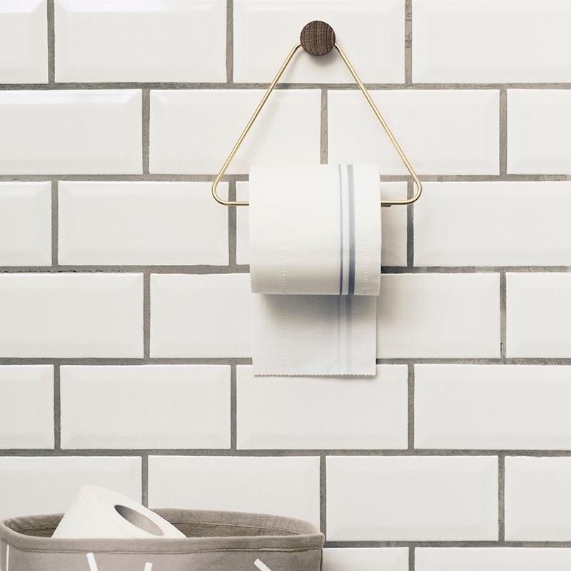Ferm living brass toilet paper holder