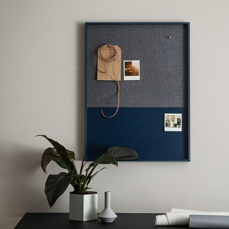 Image of   Ferm Living Frame Pinboard Blue