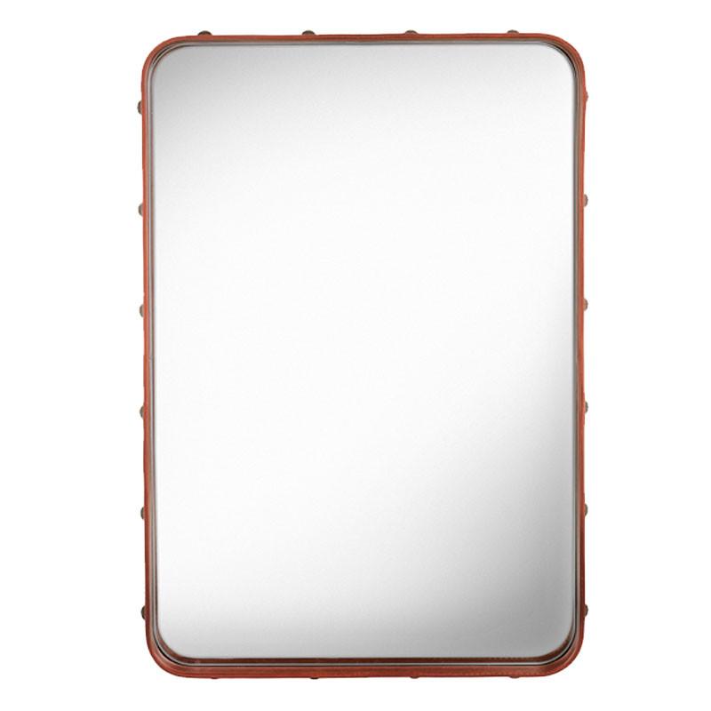 Gubi – Gubi adnet rectangulaire spejl tan på livingshop