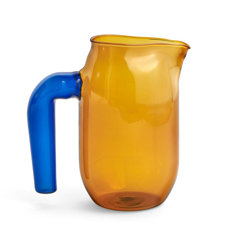 Hay jug amber small