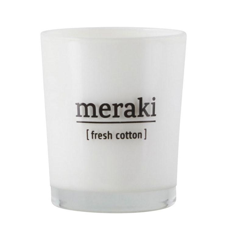 Meraki Meraki fresh cotton duftlys på livingshop