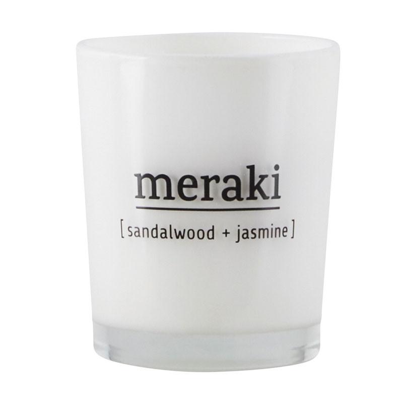 Meraki – Meraki sandalwood & jasmine duftlys fra livingshop