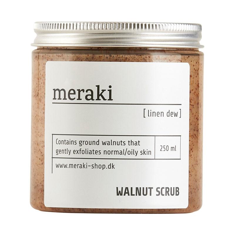 Meraki – Meraki valnøddescrub linen dew på livingshop