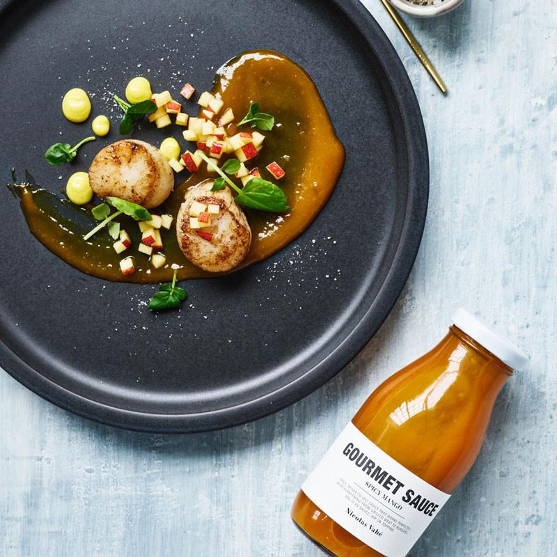 Nicolas vahé gourmet sauce spicy mango