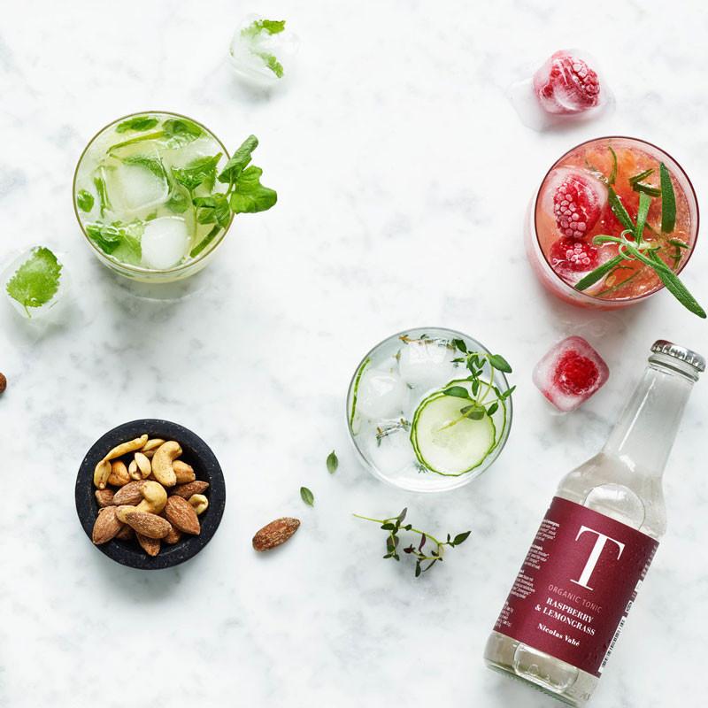 Nicolas vahé tonic hindbær & citrongræs
