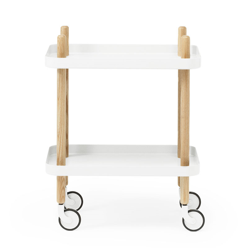 Image of   Normann Cph Block Table White