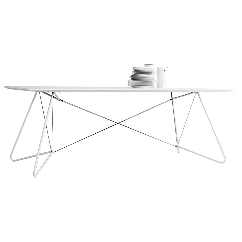 Ok design Ok design on a string table hvid på livingshop