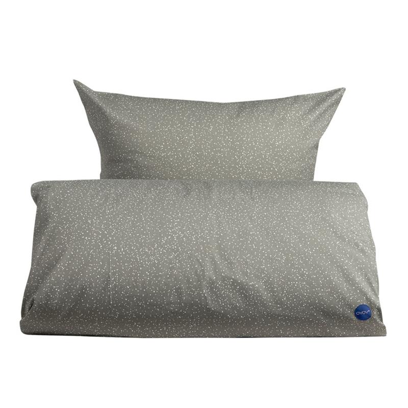 Image of   OYOY Starry Bedding Elephant Grey