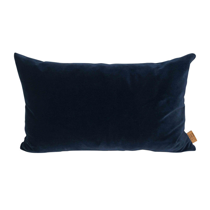 Image of   Skriver Collection City Velvet Cushion Blue