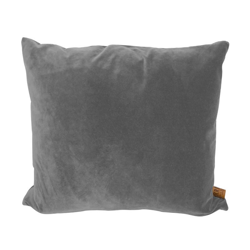 Skriver collection city velvet cushion light grey