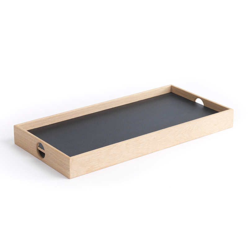 Image of   The Oak Men Flip Tray Small Black/White
