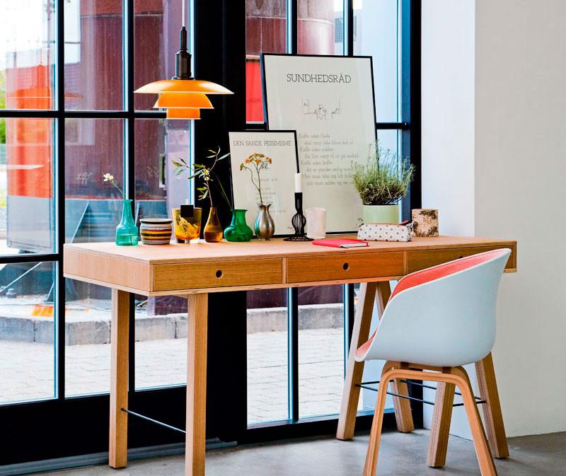 indretning af kontor værelse