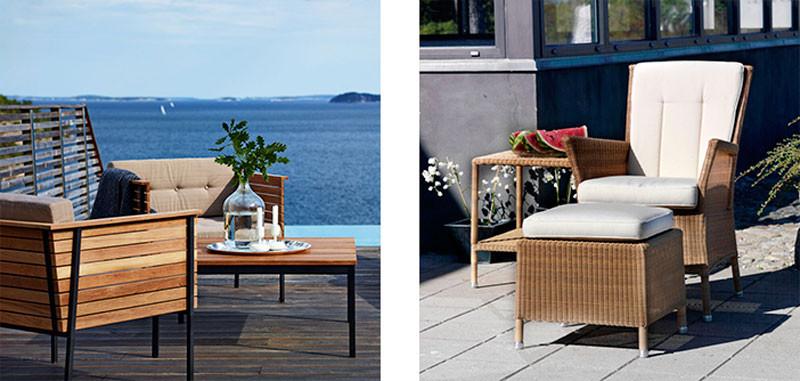 Udendørs lounge » Inspiration til lounge møbler » Livingshop.dk