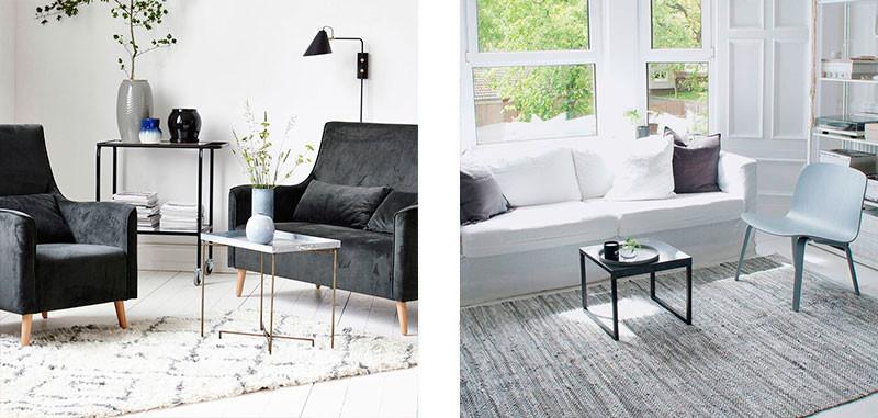 Fine stue tekstiler » Skab hygge i stuen med tekstiler » Livingshop.dk