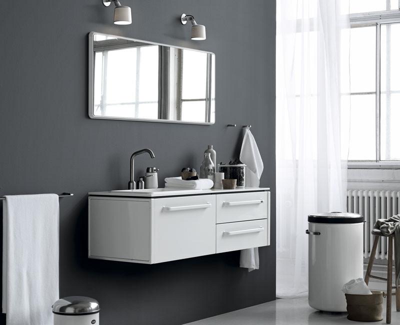 Lille badeværelse inspiration» Hjælp til få kvadratmeter » Livingshop.dk