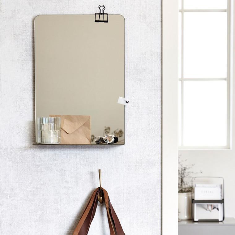 spejl til entre Indretning af lille entre » Hjælp til få kvadratmeter » Livingshop.dk spejl til entre