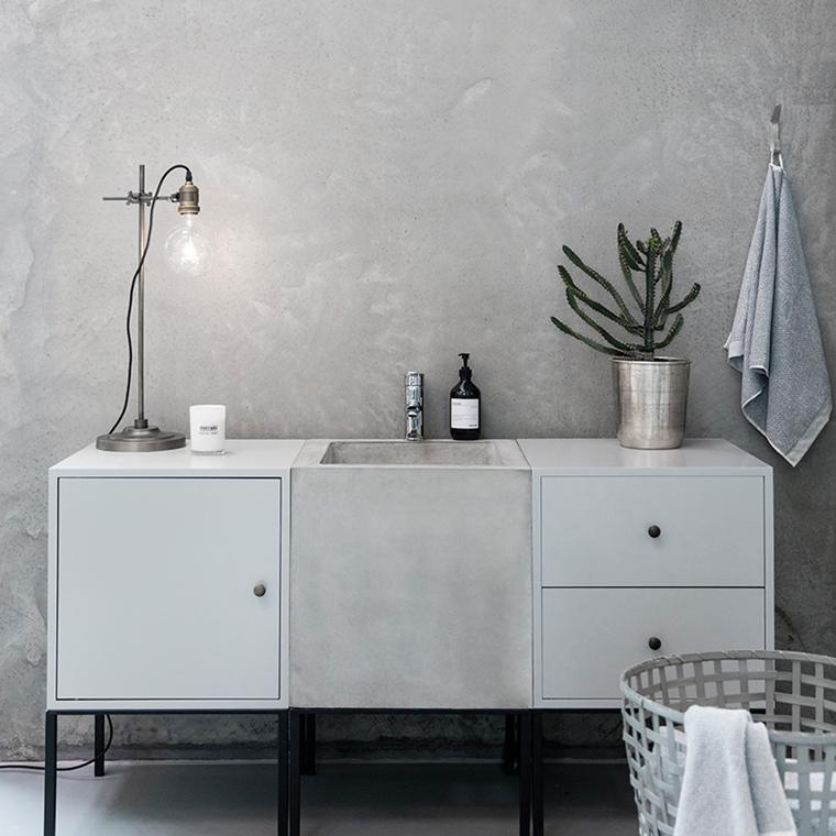 hjælp til indretning af badeværelse