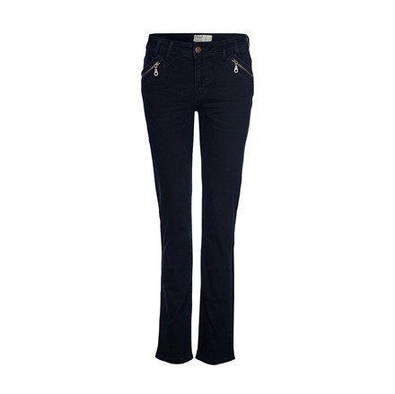 PULZ JEANS - P96331A BEATHE STRAIGHT HIGHWAIST