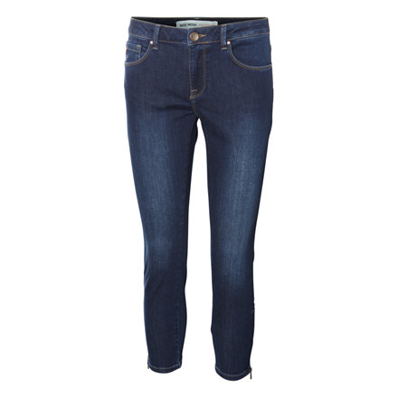 MOS MOSH 7/8 JEANS - DUFFY DARK BLUE DENIM