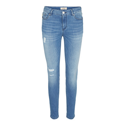 MOS MOSH JEANS - SUMNER DESTROY LIGHT BLUSE DENIM