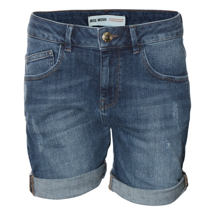 MOS MOSH SHORTS - BRADFORD PLAIN LIGHT BLUE
