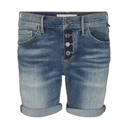 MOS MOSH SHORTS - AVA VINTAGE BLUE DENIM