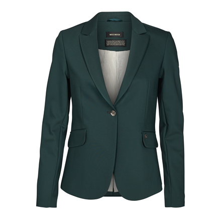 MOS MOSH BLAZER - BLAKE NIGHT JADE GREEN