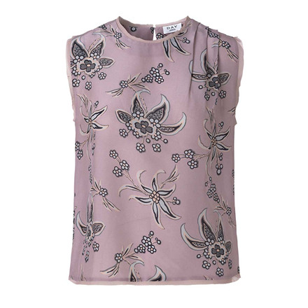 DAY BIRGER ET MIKKELSEN TOP - DAY MUDDY TOP FADED BLOOM