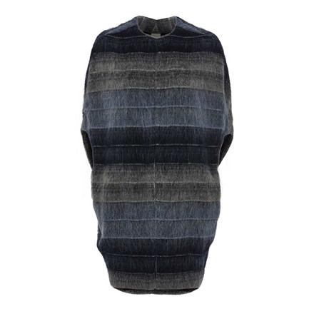 JULIE FAGERHOLT - HEARTMADE CAPE - BACH 280 BLUE MELANGE