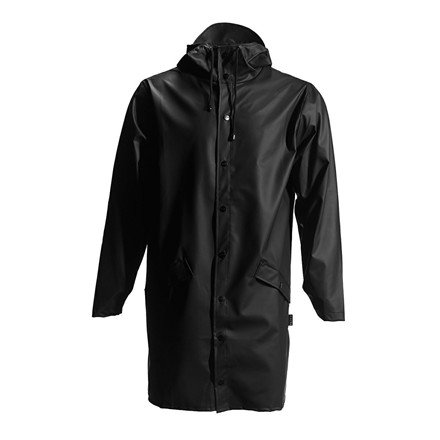 RAINS REGNJAKKE  - 1202 LONG JACKET SORT