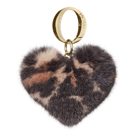 OH FUR - ALLY HEART LEO MINK 1040