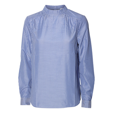 CO´COUTURE BLUSE - CATHERINE SHIRT SKY BLUE