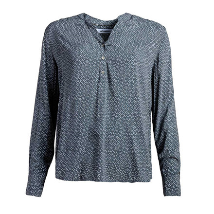 CO'COUTURE BLUSE - COCO ON MID GREY