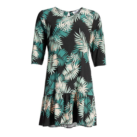 CO'COUTURE KJOLE - JUNGLE SLEEVE DRESS BLACK