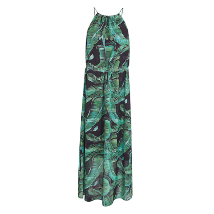 CO'COUTURE KJOLE - PALM BEACH MAXI GREEN