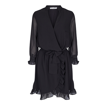 CO'COUTURE KJOLE - CHIFFON SMOCK BLACK
