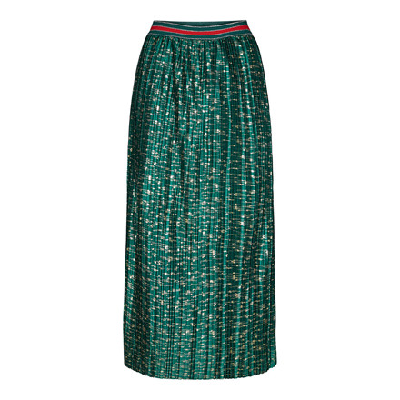 CO'COUTURE NEDERDEL - FUNKY PLISSE GREEN