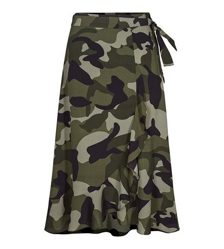 CO'COUTURE NEDERDEL - NEVAEH CAMO ARMY