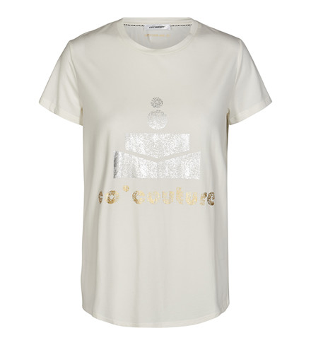 CO'COUTURE T-SHIRT -  TEE WHITE