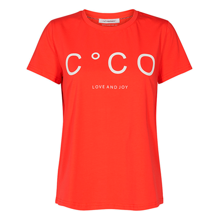CO'COUTURE T-SHIRT - COCO SIGNATURE RASPBERRY