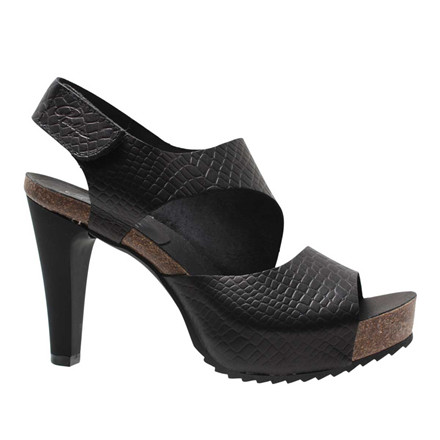 PENELOPE COLLECTION SANDAL - 3022 SORT MØNSTRET