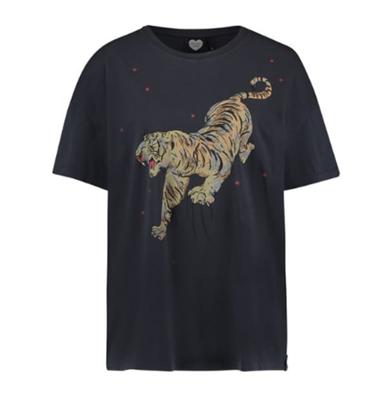 CATWALK JUNKIE T-SHIRT - EASY TIGER DARK GREY